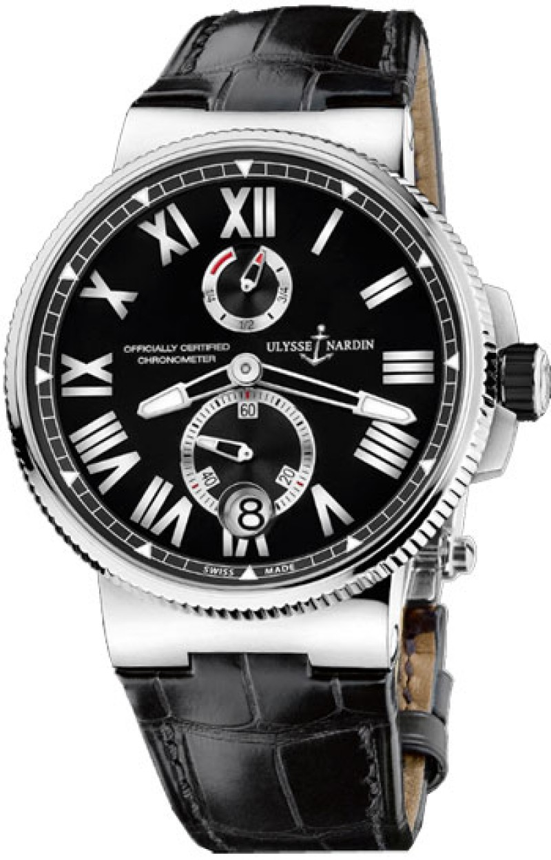 Fake Ulysse Nardin Marine Chronometer Mens Watch 1183-126-7M-42