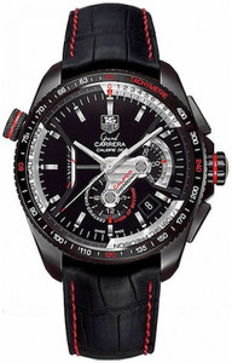 Fake TAG Heuer Grand Carrera Chronograph Automatic Mens Watch CAV5185.FC6237