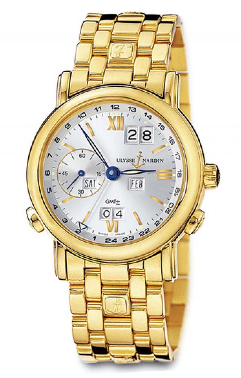 Fake Ulysse Nardin GMT Perpetual Mens Watch 321-22-8-31