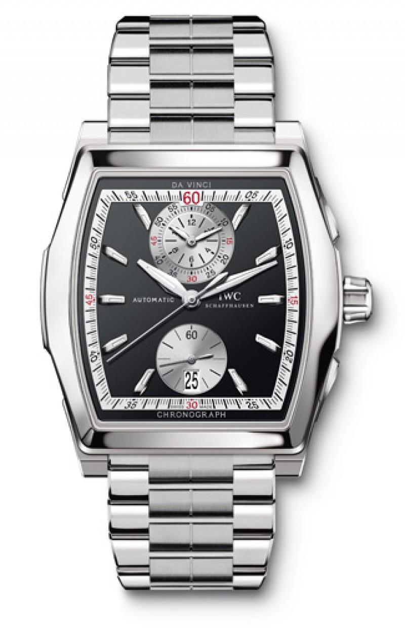 Fake IWC Da Vinci Automatic Chronograph Mens Watch IW376407