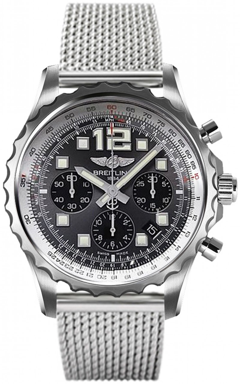 Fake Breitling Chronospace Chronograph Mens Watch A2336035-F555SS