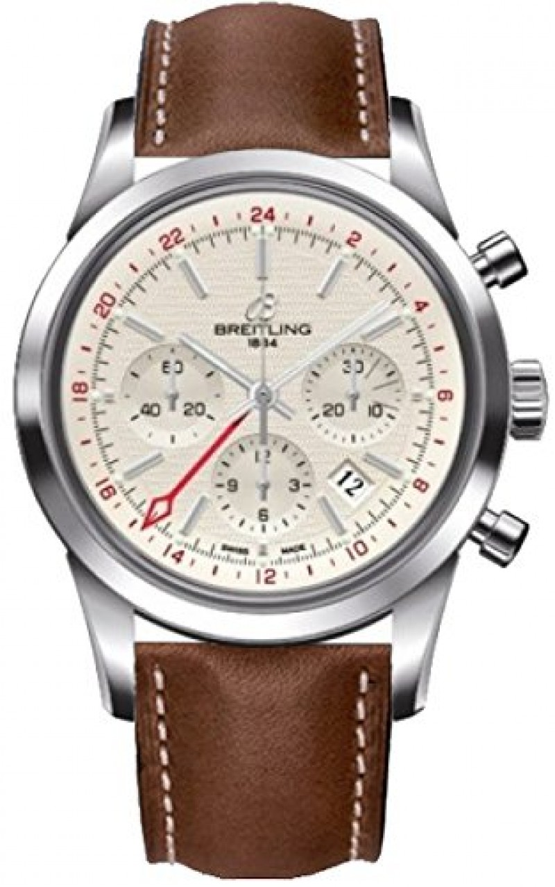 Fake Breitling Transocean Chronograph GMT Mens Watch AB045112-G772BRLT
