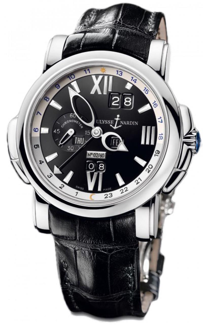 Fake Ulysse Nardin GMT Perpetual Mens Watch 320-60-32