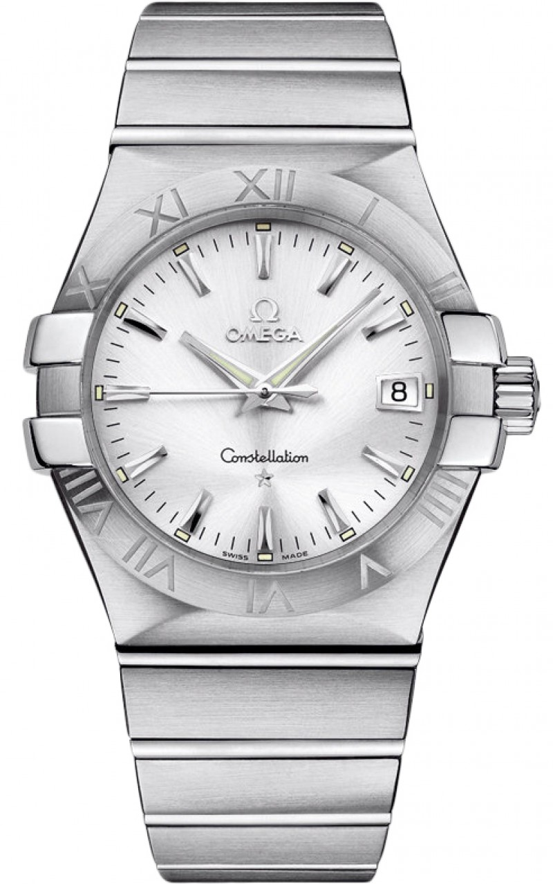 Fake Omega Constellation Quartz 35mm Mens Watch 123.10.35.60.02.001
