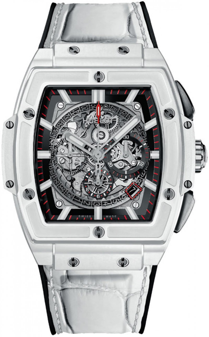 Replica Hublot Spirit Of Big Bang White Ceramic Mens Watch 601.HX.0173.LR