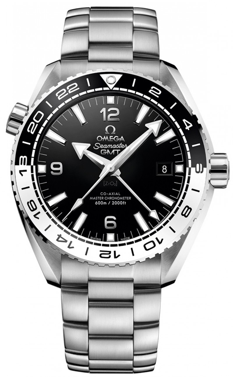 Fake Omega Seamaster Planet Ocean 600m GMT 43.5mm Mens Watch