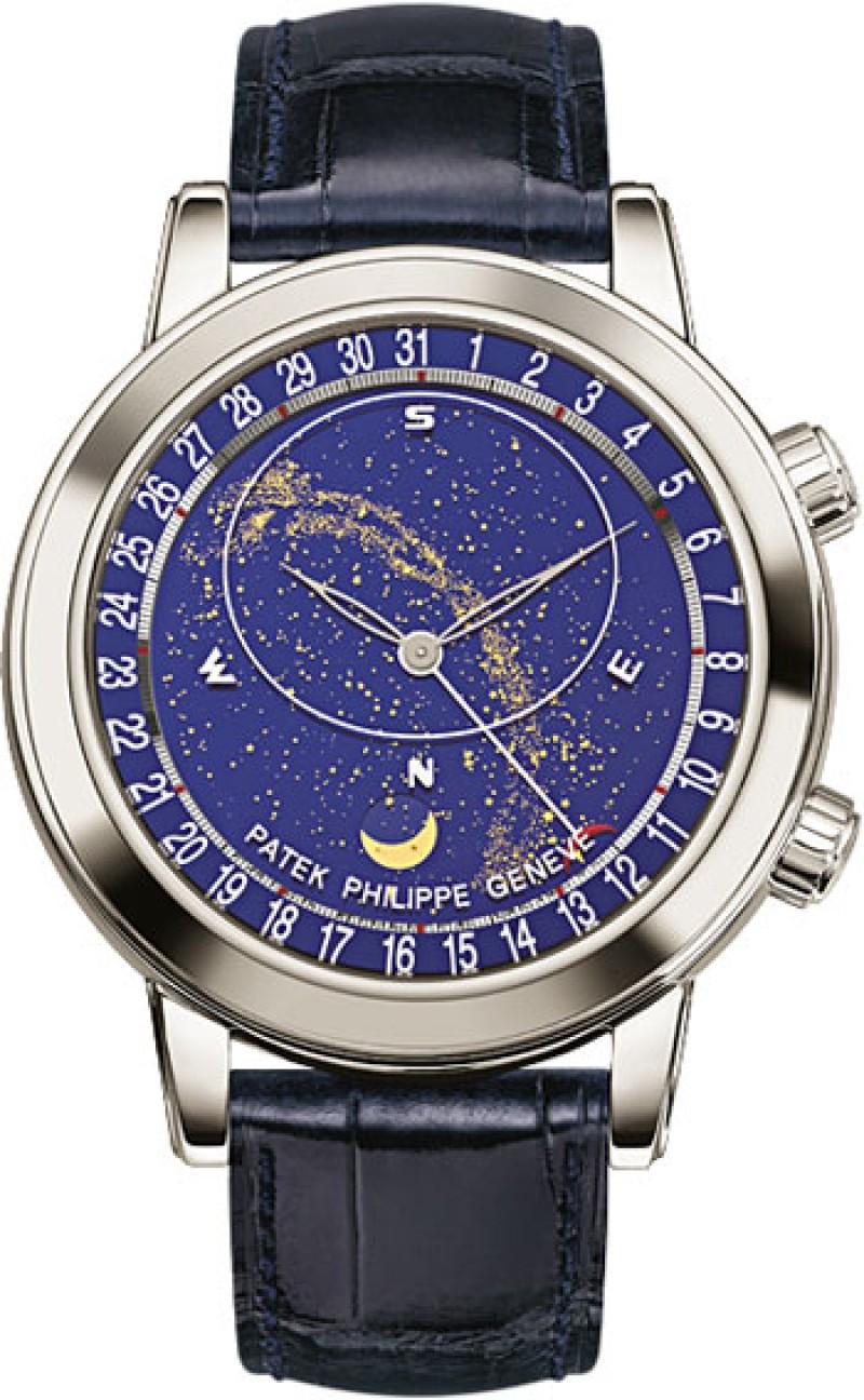 Replica Patek Philippe Grand Complications Platinum Mens Watch 6102P-001