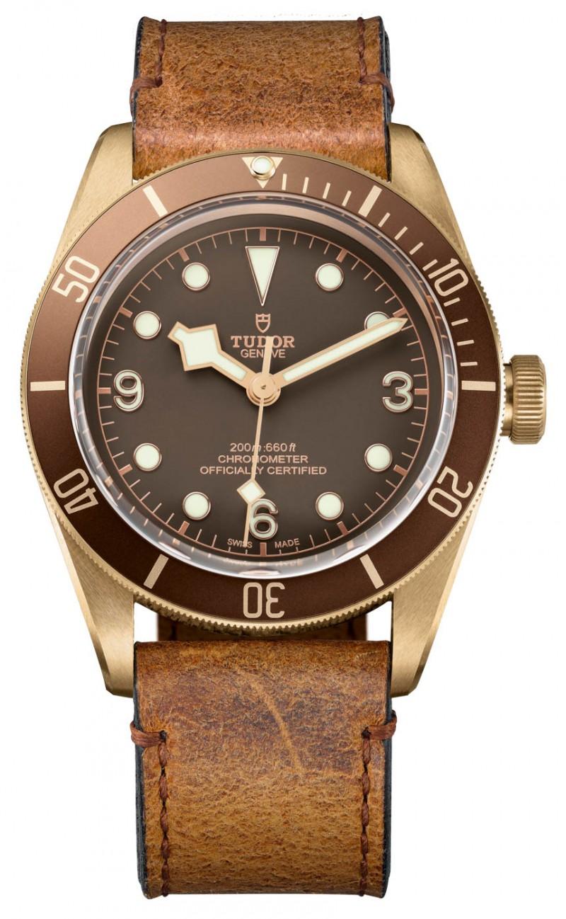 Replica Tudor Heritage Black Bay Bronze Watch 79250BM