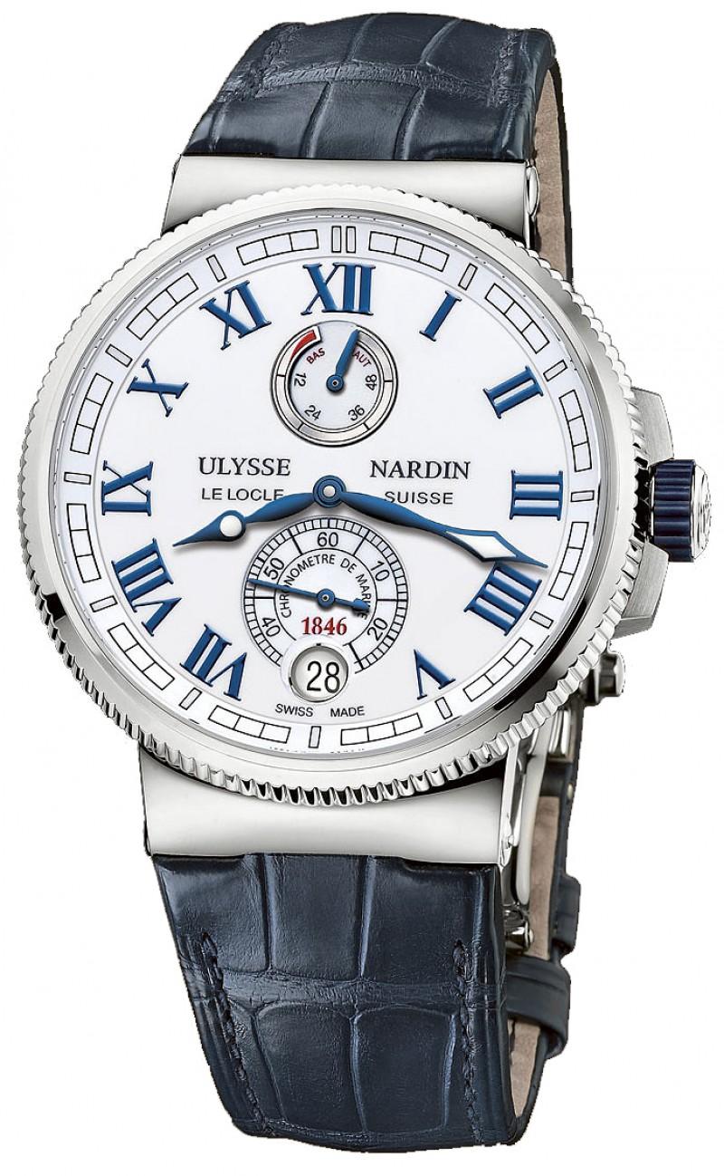 Replica Ulysse Nardin Marine Chronometer Manufacture 1183-126/40