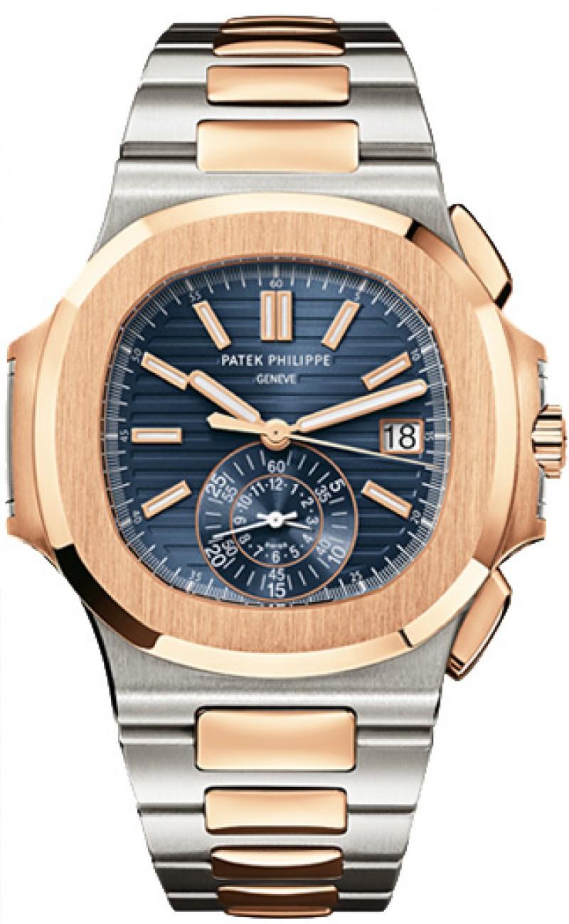 Replica Patek Philippe Nautilus Blue Dial Mens Watch 5980/1AR