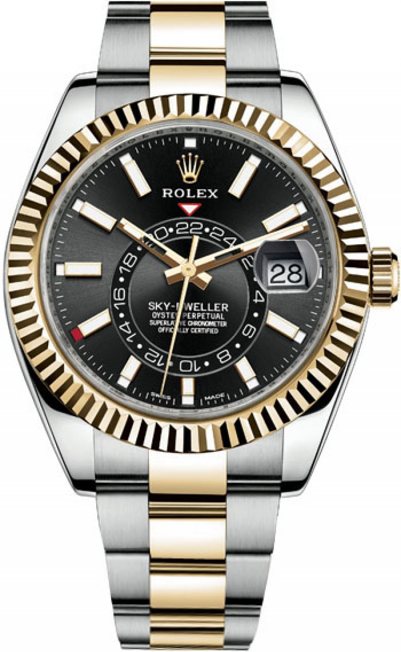 Fake Rolex Sky-Dweller 42mm Mens 326933-0002