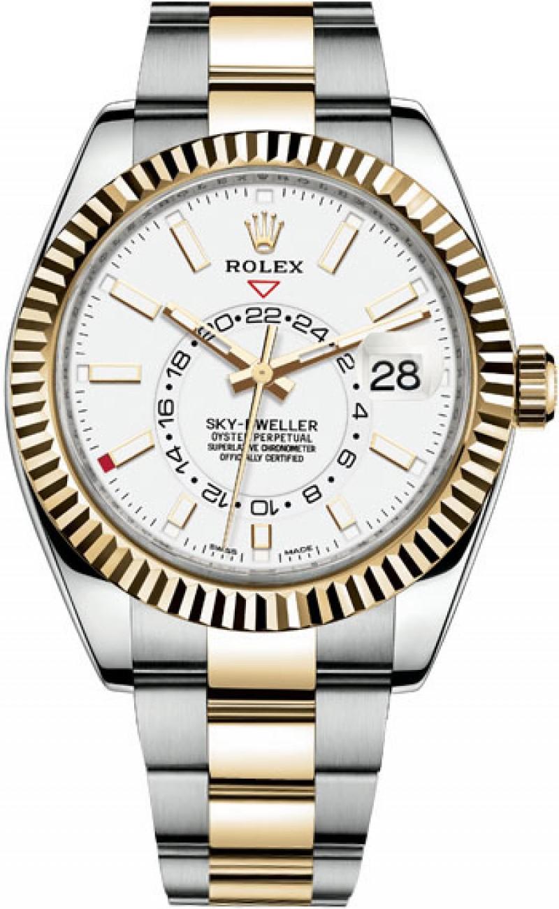 Fake Rolex Sky-Dweller 42mm Mens 326933-0009