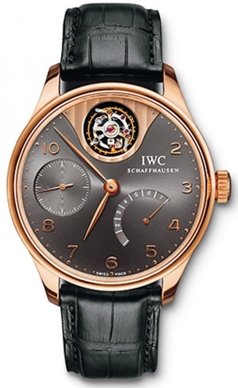 Fake IWC Portuguese Tourbillon Mystere Mens Watch IW504210