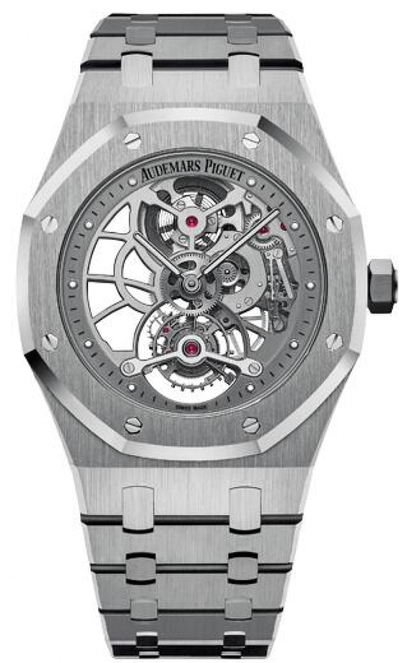 Replica Audemars Piguet Royal Oak Ultra Thin Tourbillon Openworked 26518ST.OO.1220ST.01