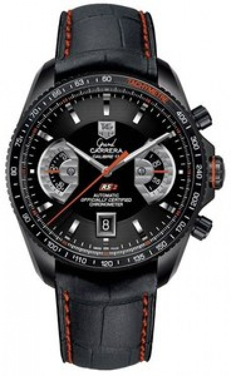 Fake TAG Heuer Grand Carrera Automatic Chronometer Mens Watch CAV518K.FC6268