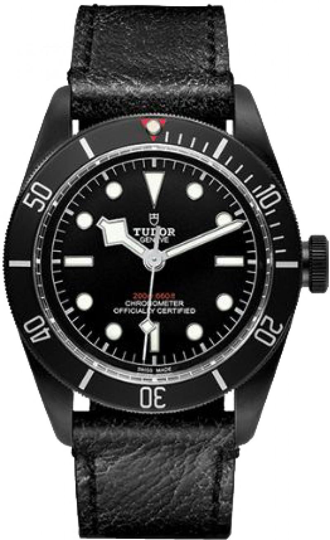 Replica Tudor Heritage Black Bay Black Dial Automatic Mens Watch 79230DK