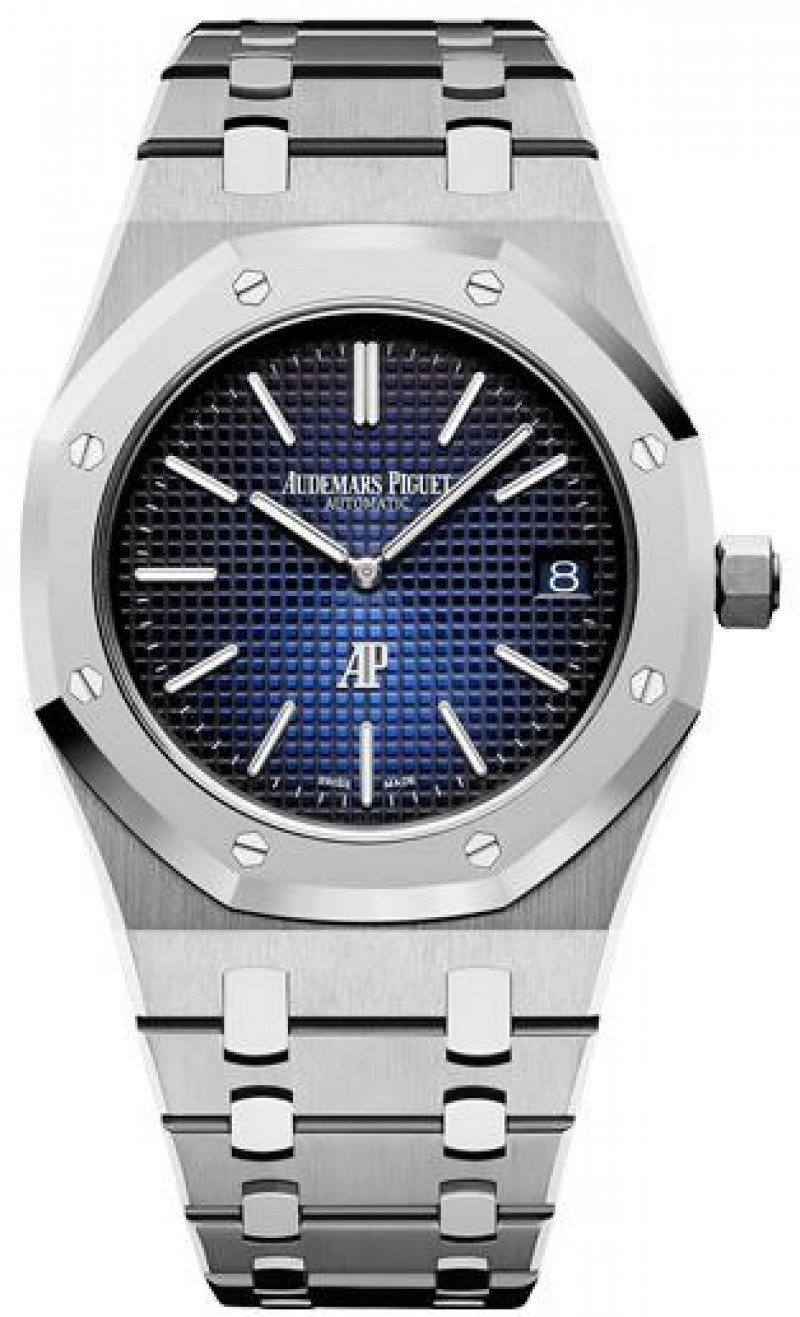 Fake Audemars Piguet Royal Oak Jumbo Extra-Thin Titanium 15202IP.OO.1240IP.01