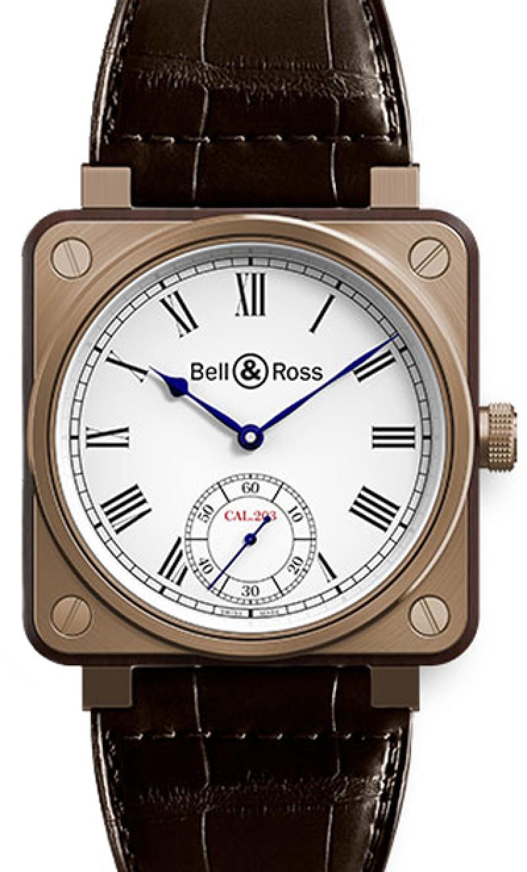 Replica Bell & Ross Aviation BR01 Instrument De Marine Mens Watch BR01-CM-203