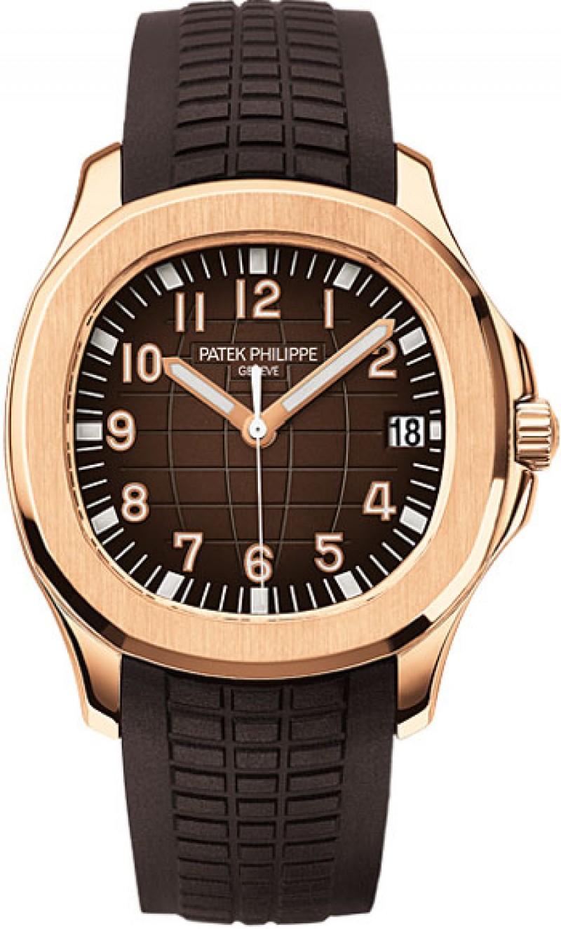 Replica Patek Philippe Aquanaut Rose Gold Automatic Mens Watch 5167R-001