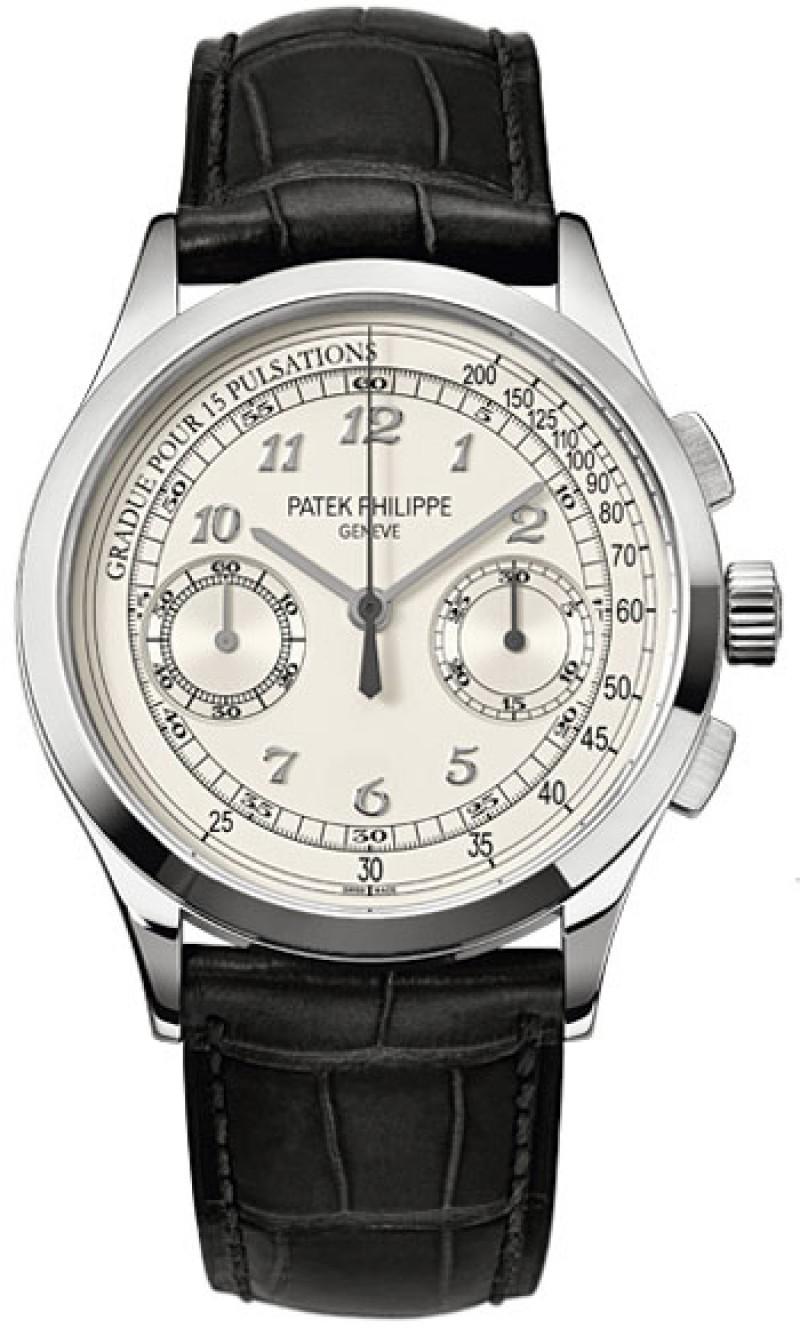 Replica Patek Philippe Complications Chronograph Mens Watch 5170G-001
