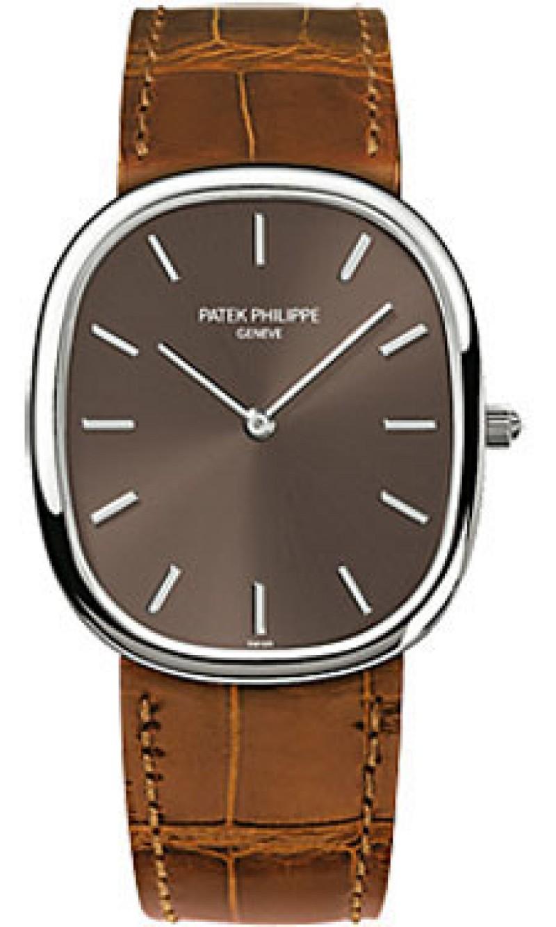 Replica Patek Philippe Golden Ellipse Mens Watch 3738/100G-012