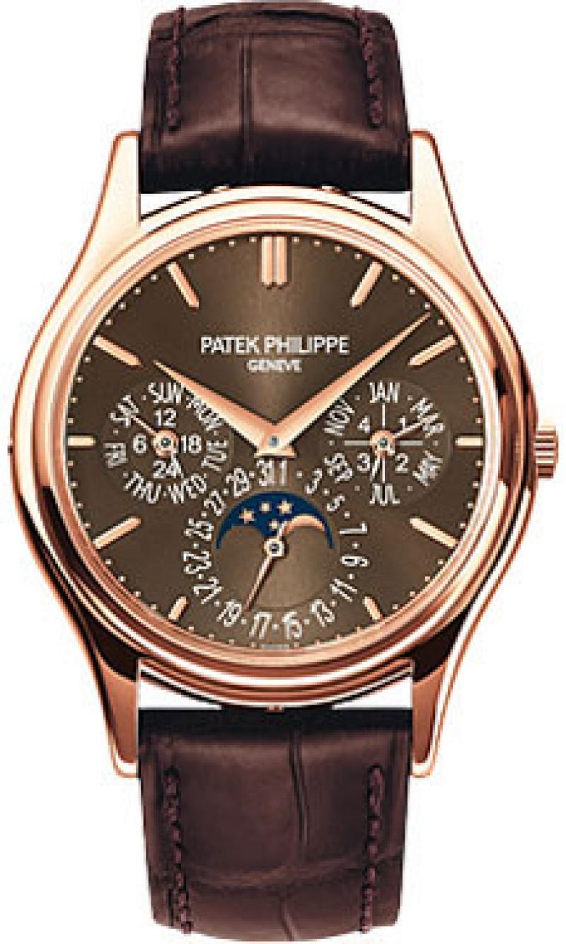 Replica Patek Philippe Grand Complications Perpetual Calendar Mens Watch 5140R-001