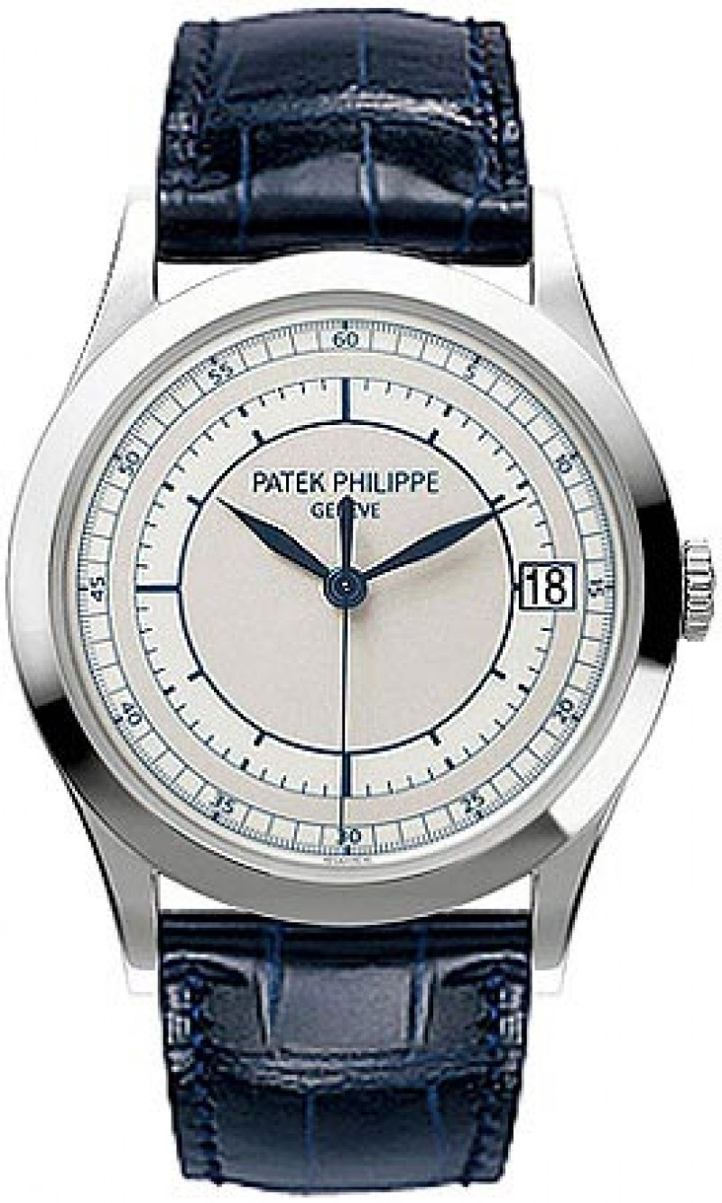 Replica Patek Philippe Calatrava Automatic White Gold Mens Watch 5296G-001