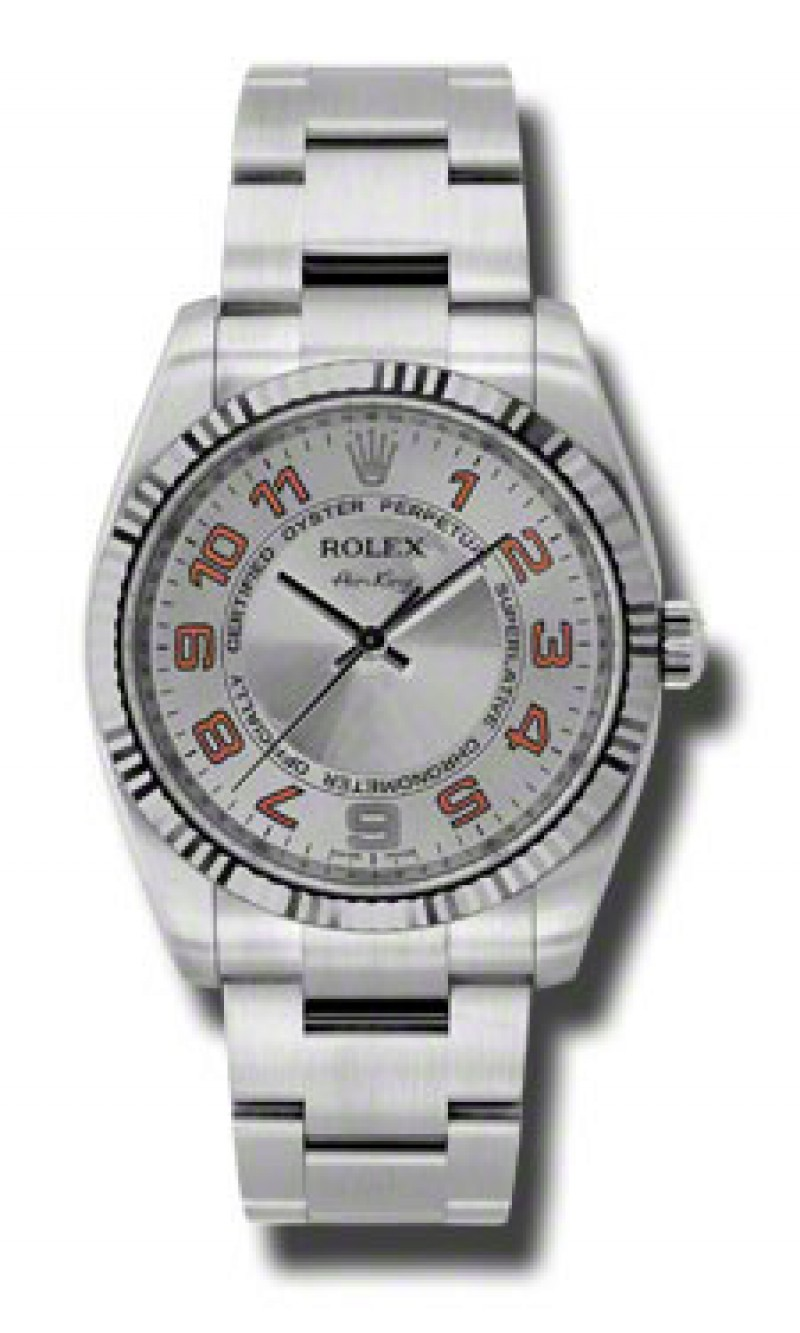 Fake Rolex Oyster Perpetual Air-King Mens Watch 114234-SCAO