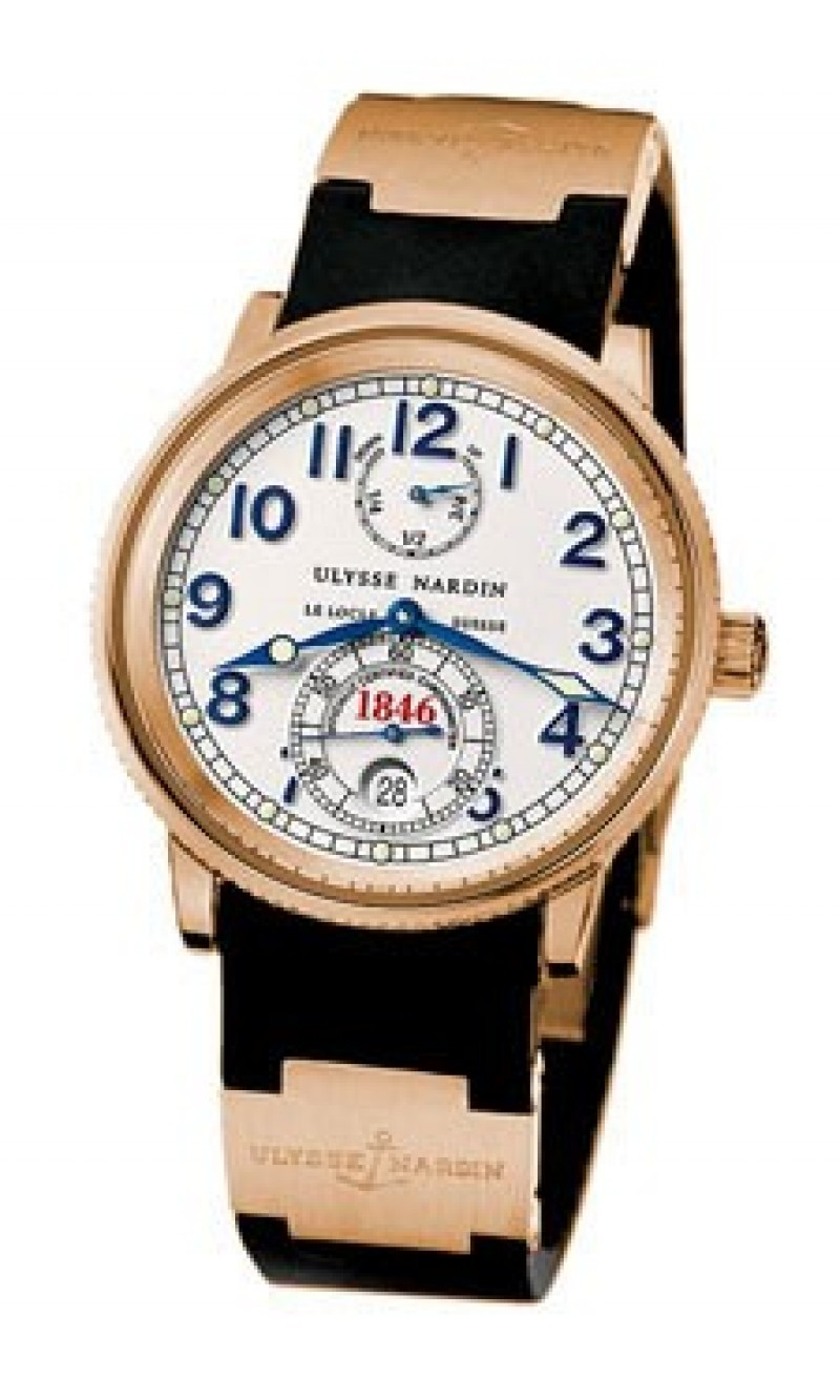 Fake Ulysse Nardin Marine Chronometer 1846 38mm Mens Watch 266-77-3