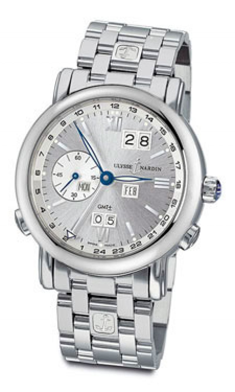 Fake Ulysse Nardin GMT Perpetual Automatic Mens Watch 320-82-8-31
