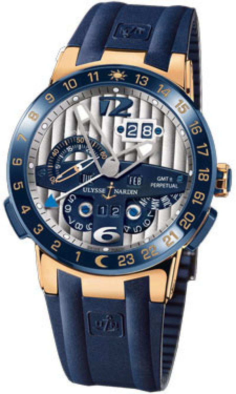 Fake Ulysse Nardin El Toro GMT Mens Watch 326-00-3