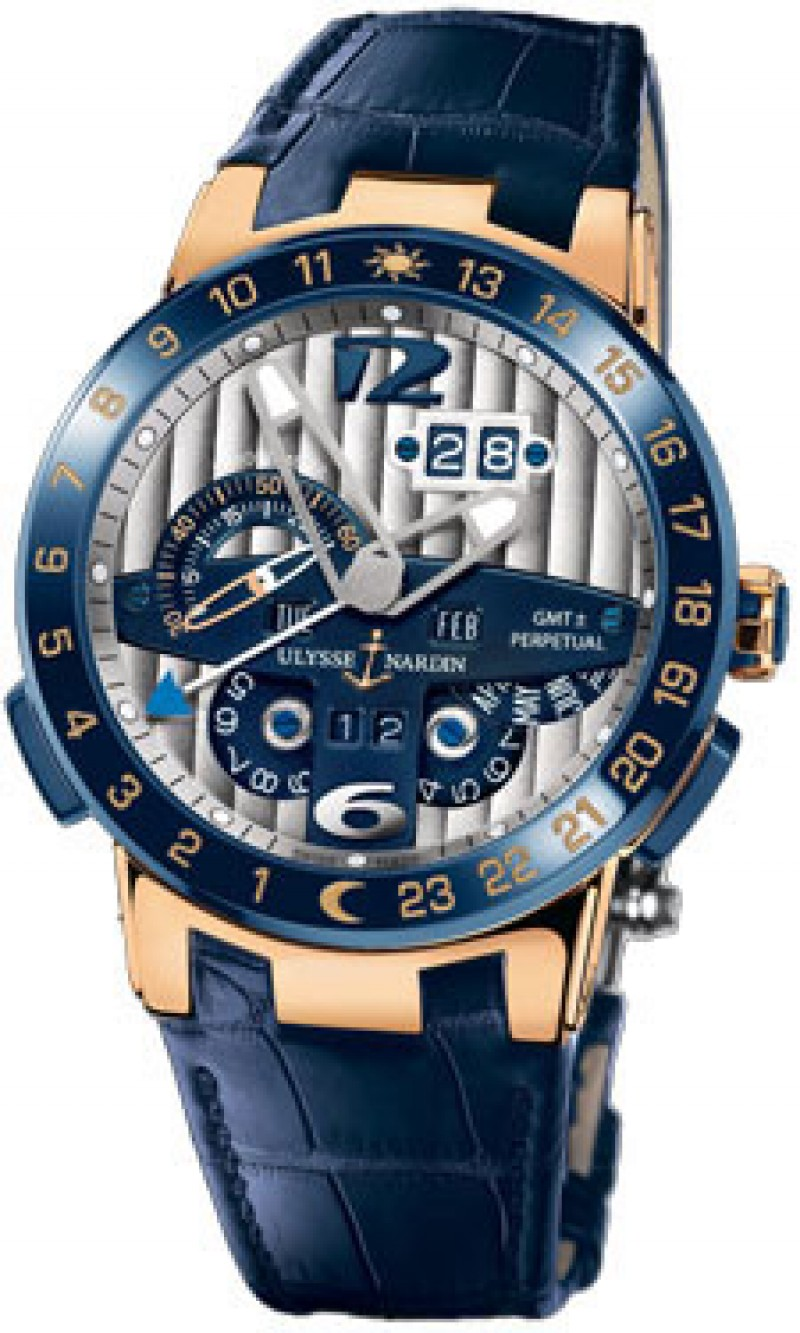 Fake Ulysse Nardin El Toro GMT Mens Watch 326-00