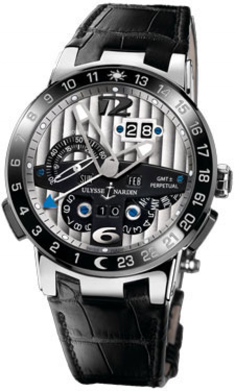 Fake Ulysse Nardin El Toro GMT Mens Watch 329-00