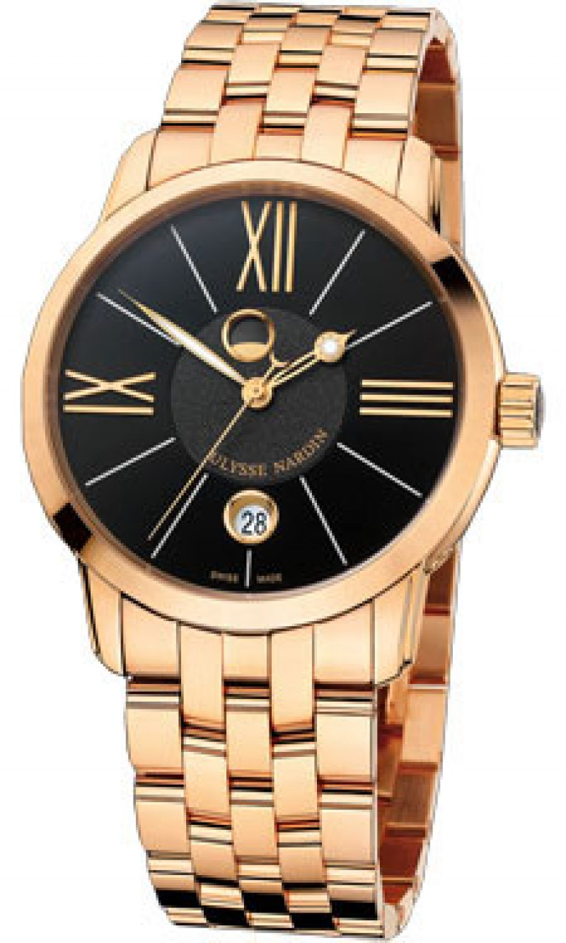 Fake Ulysse Nardin Classico Luna Automatic Mens Watch 8296-122-8-42