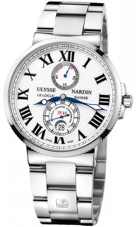 Fake Ulysse Nardin Maxi Marine Chronometer Automatic Mens Watch 263-67-7-40