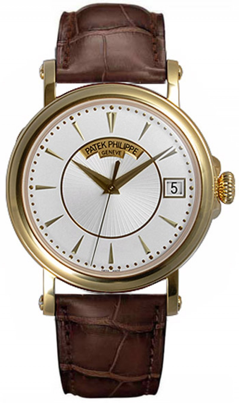 Replica Patek Philippe Calatrava Automatic Yellow Gold Mens Watch 5153J