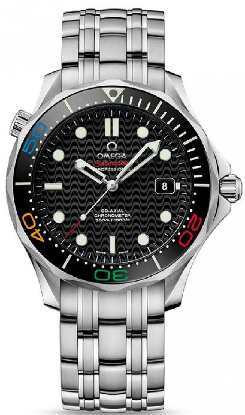 Fake Omega Seamaster Diver 300M RIO 2016 522.30.41.20.01.001