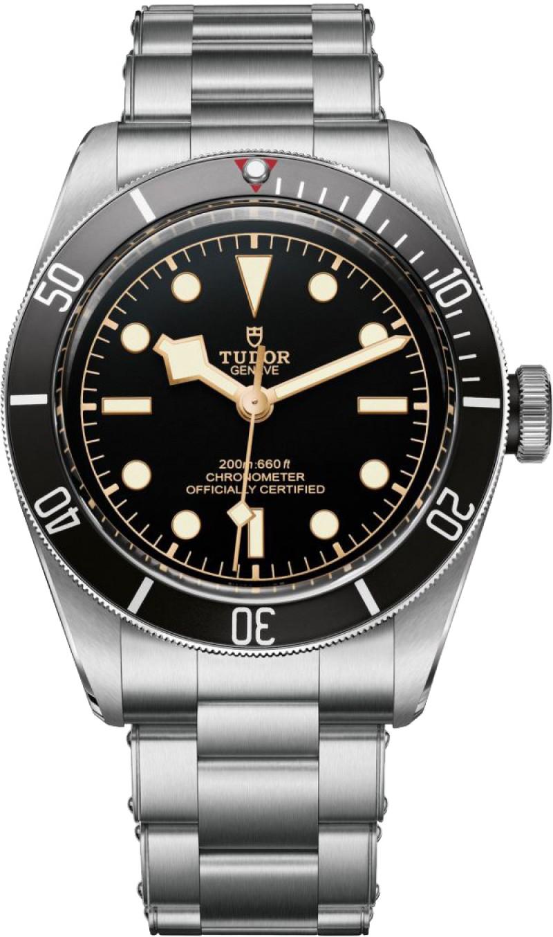 Replica Tudor Heritage Black Bay Black Dial Automatic Mens Watch 79230N