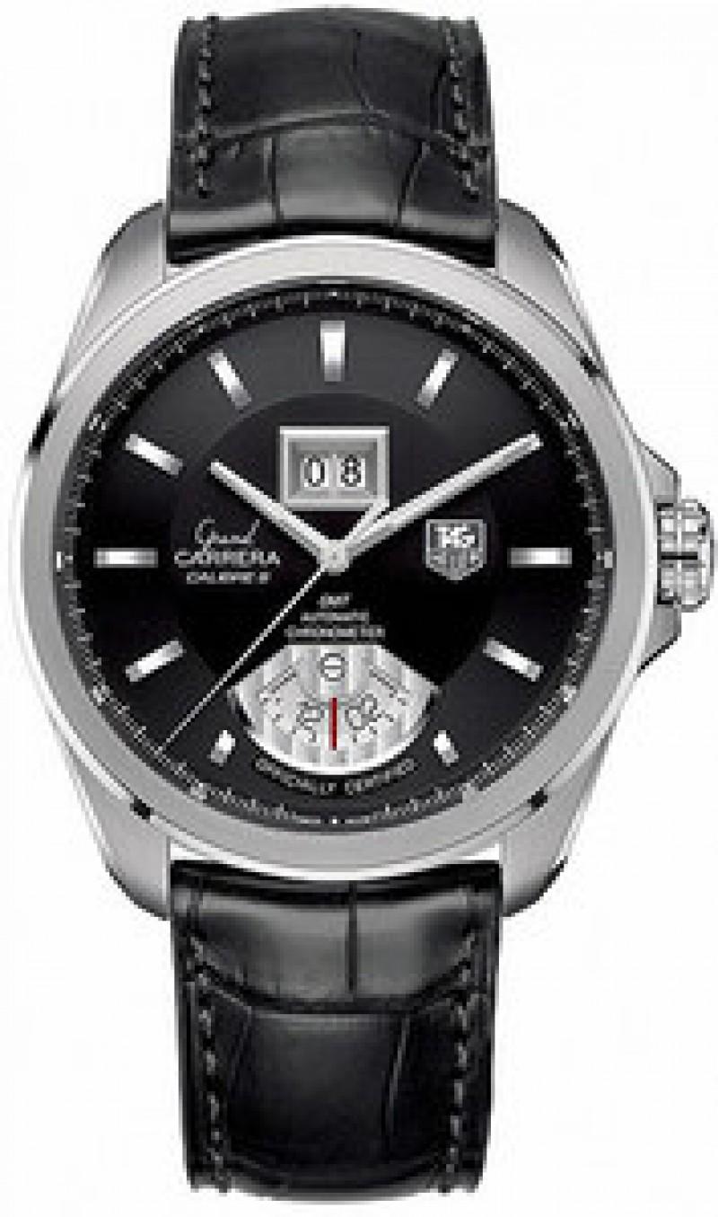 Fake TAG Heuer Grand Carrera Grande Date GMT Mens Watch WAV5111.FC6225