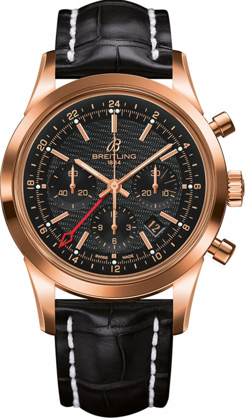 Fake Breitling Transocean Chronograph GMT BWatch RB045112-BC68SS