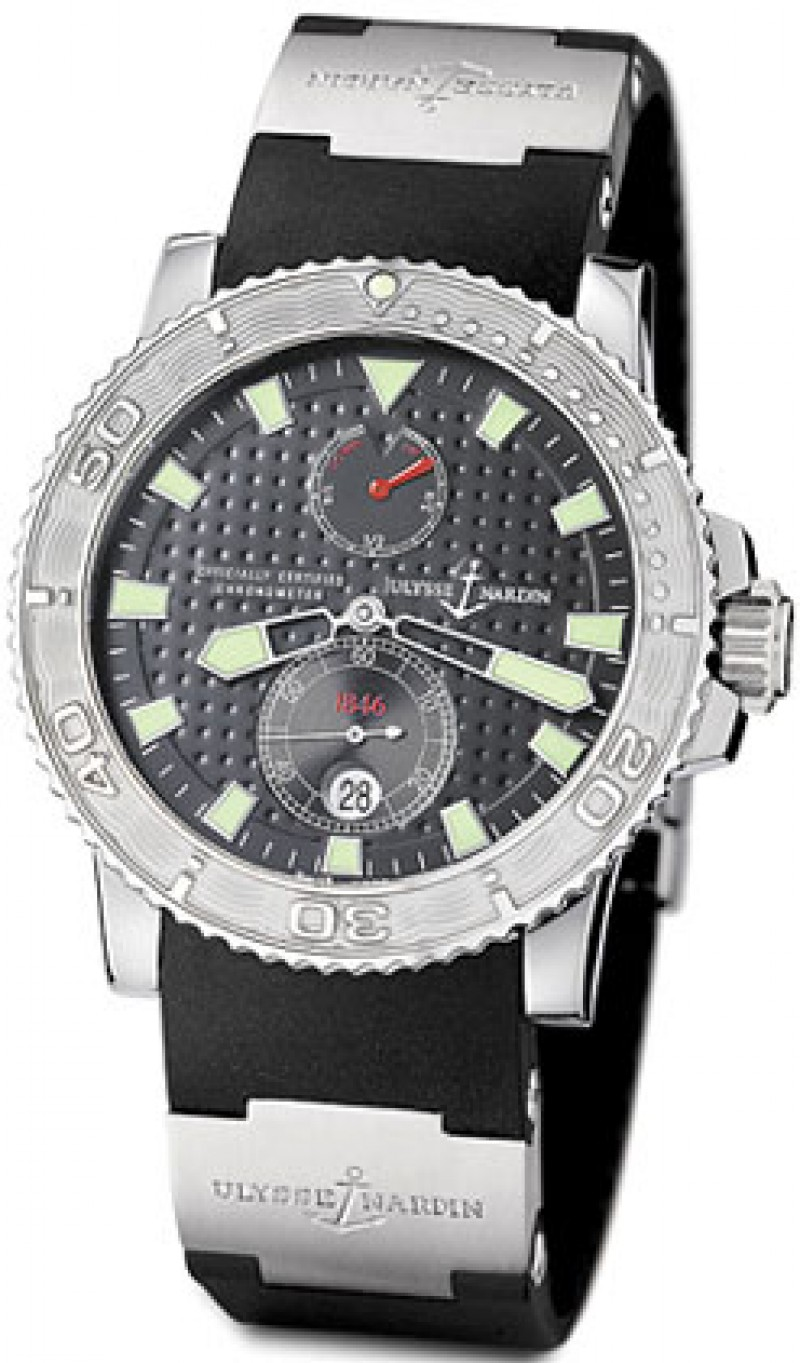 Fake Ulysse Nardin Maxi Marine Chronometer Mens Watch 263-33-3-91