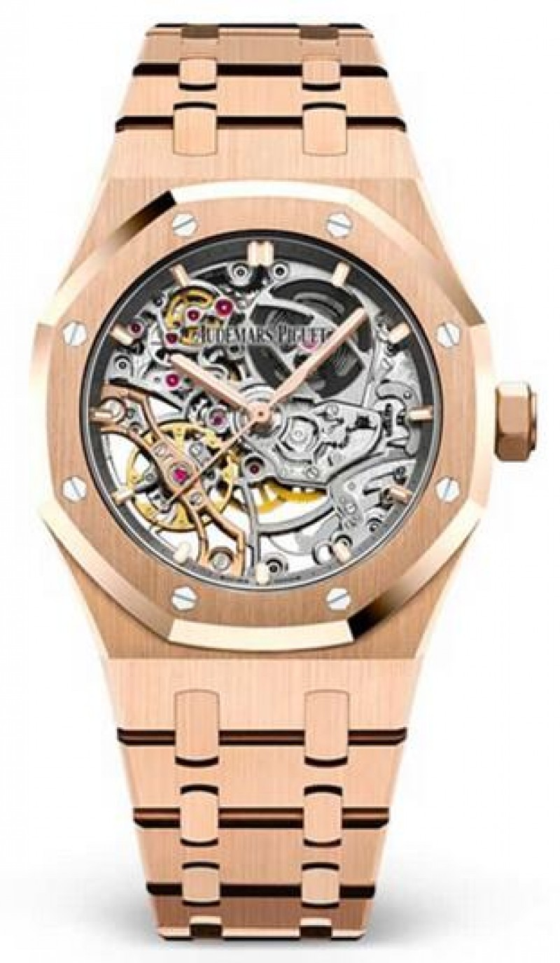 Fake Audemars Piguet Royal Oak Double Balance Wheel Openworked 15467OR.OO.1256OR.01