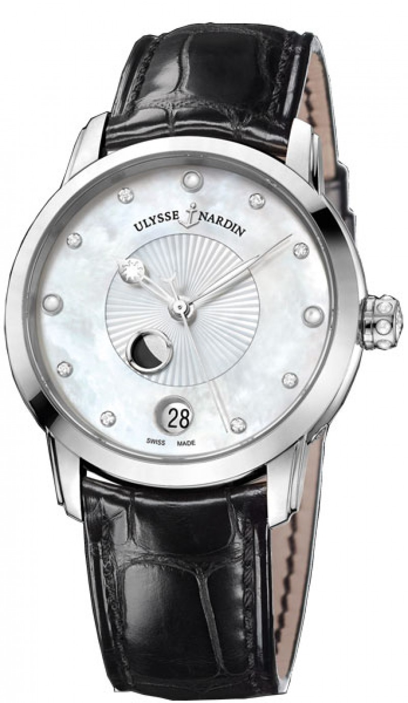 Fake Ulysse Nardin Classico Lady Luna Automatic Watch 8293-123-2-991