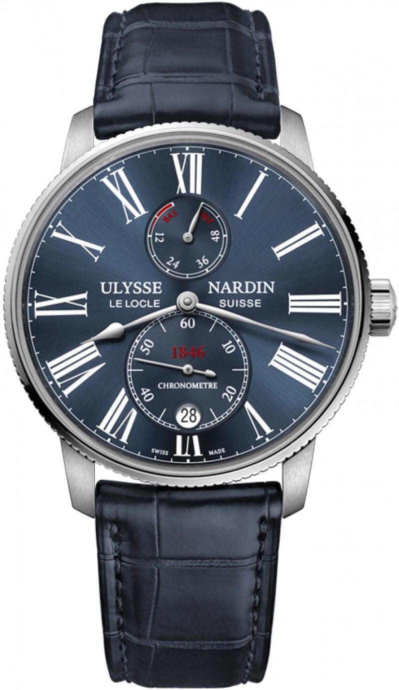 Replica Ulysse Nardin Marine Chronometer Torpilleur 42mm Mens 1183-310/43