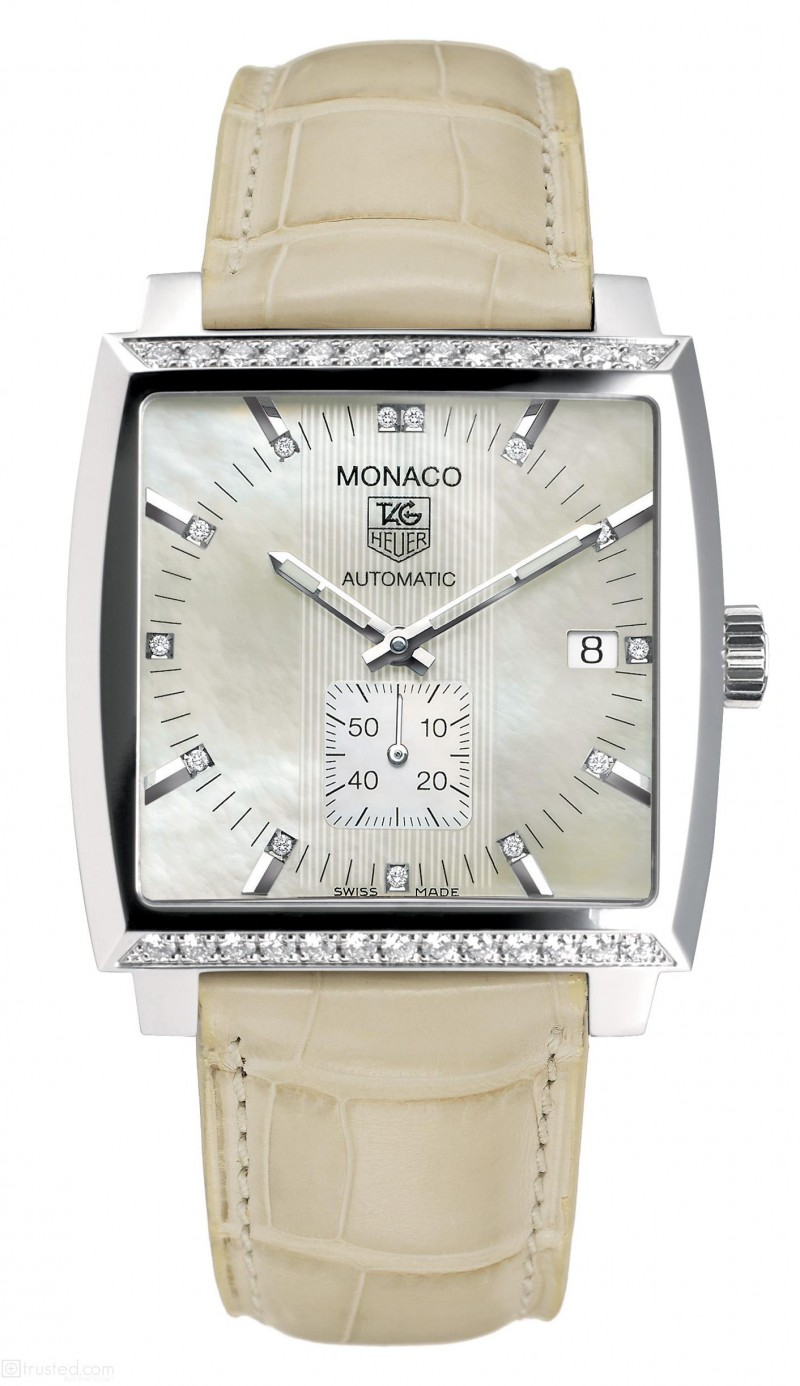 Fake TAG Heuer Monaco Automatic Ladies Watch WW2114.FC6215