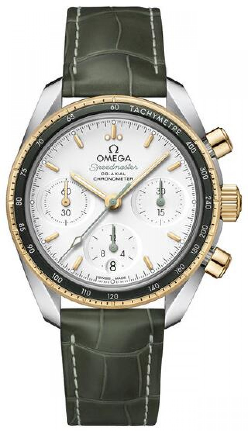 Fake Omega Speedmaster 38mm Green Bezel 324.23.38.50.02.001