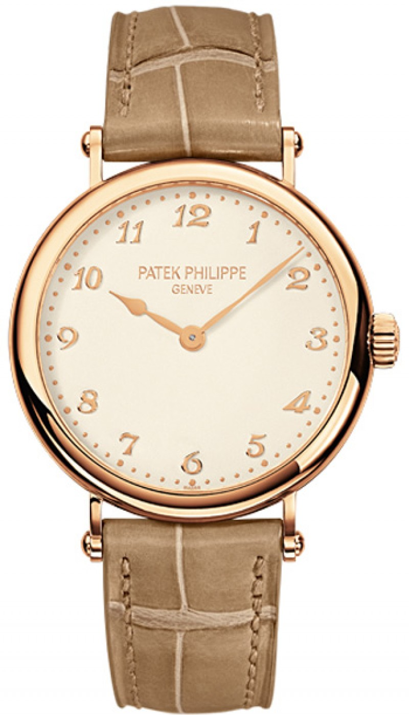 Replica Patek Philippe Calatrava Rose Gold Ladies Watch 7200R