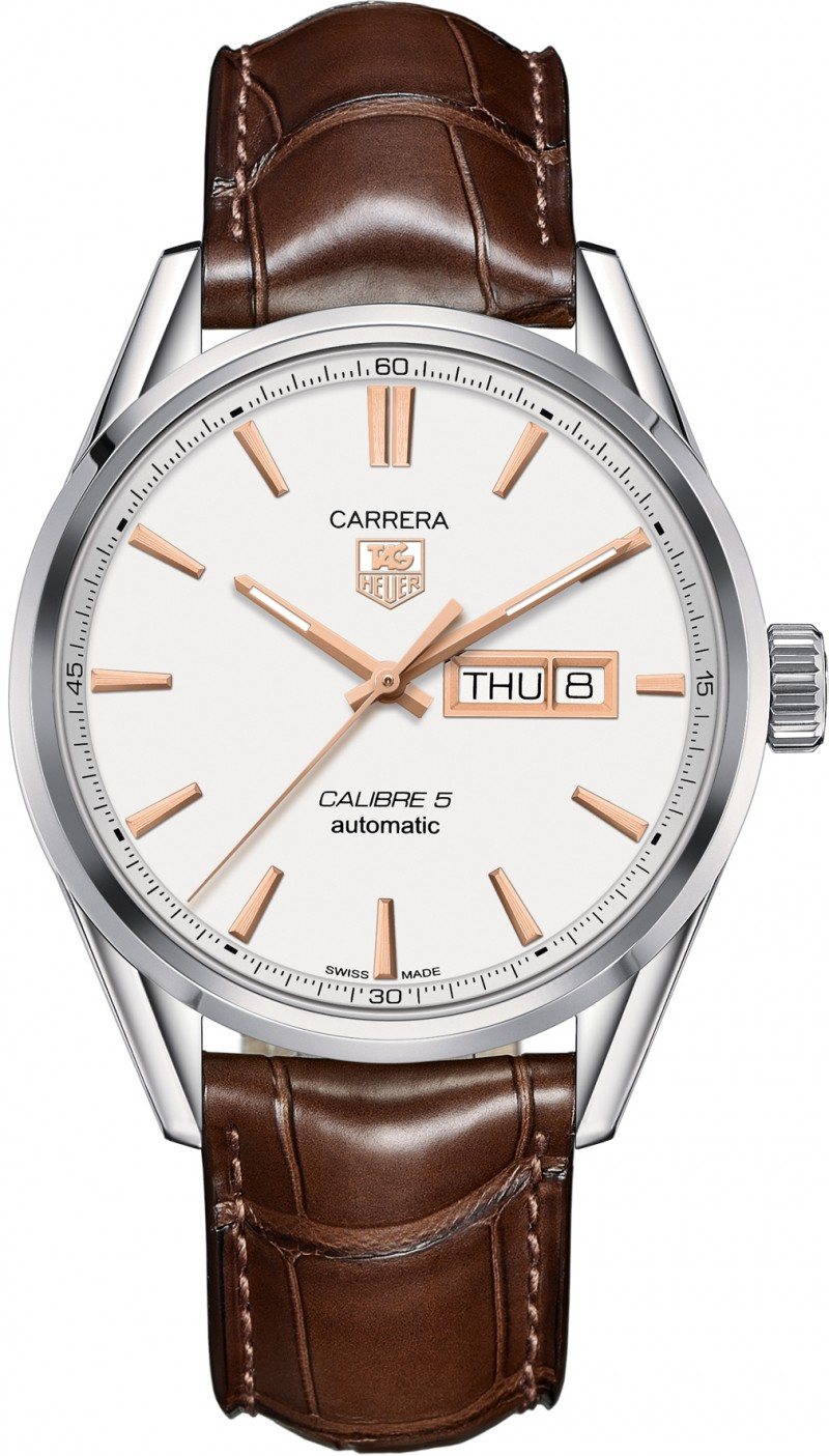 Fake TAG Heuer Carrera Calibre 5 Day-Date Automatic 41mm WAR201D.FC6291