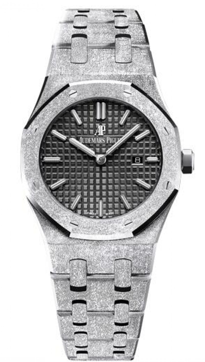 Fake Audemars Piguet Royal Oak Frosted Gold Quartz 67653BC.GG.1263BC.02