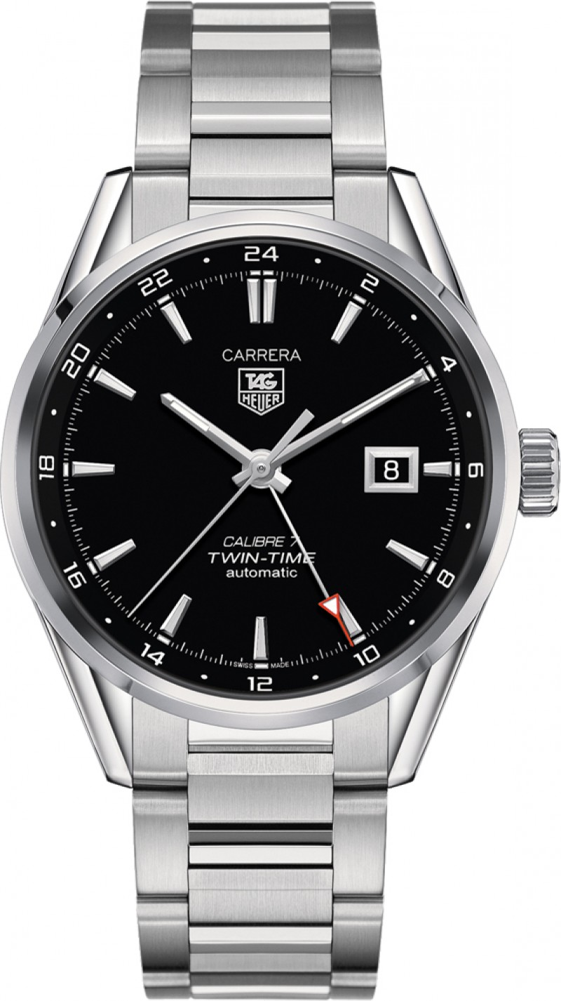 Fake TAG Heuer Carrera Calibre 7 Twin-Time Automatic 41mm WAR2010.BA0723